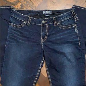 Women's Silver (Suki) Jeans Super Skinny